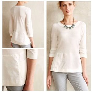 Anthropologie Moth Breeze Point Sweater